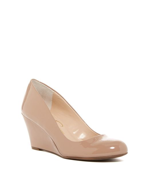 Jessica Simpson | Natural Suzanna Wedge Pump - Multiple Widths Available | Lyst