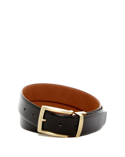 Boconi | Brown Harrison Reversible Leather Belt for Men | Lyst