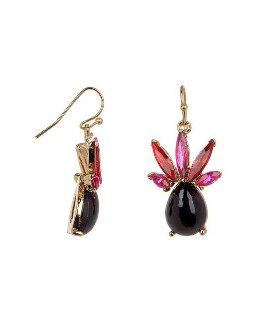 Trina Turk | Metallic Stone Drop Earrings | Lyst