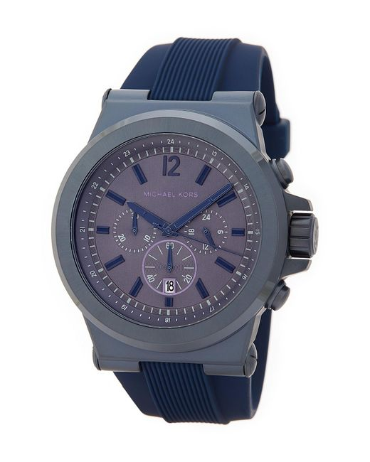 MICHAEL Michael Kors | Blue Men's Dylan Chronograph Watch for Men | Lyst