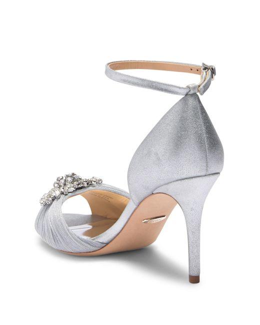Badgley Mischka Womens Sabrina II Heeled Sandal