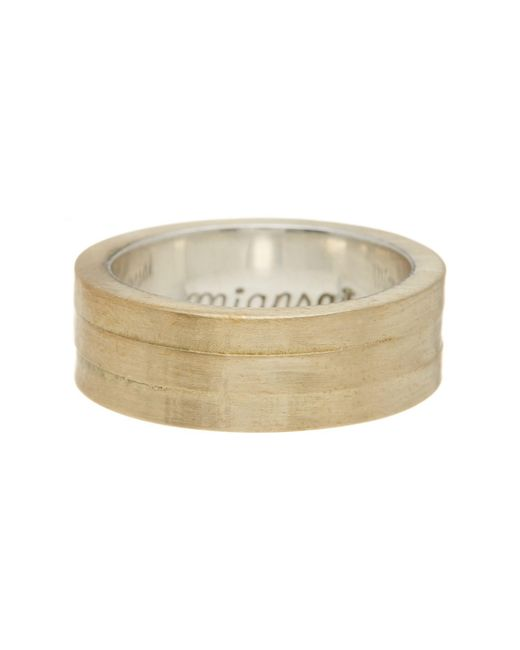 Miansai | Metallic Layered Ring - Size 8 | Lyst