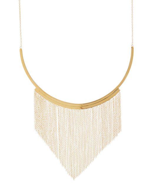 Gorjana - Metallic 'meg' Fringe Collar Necklace - Lyst