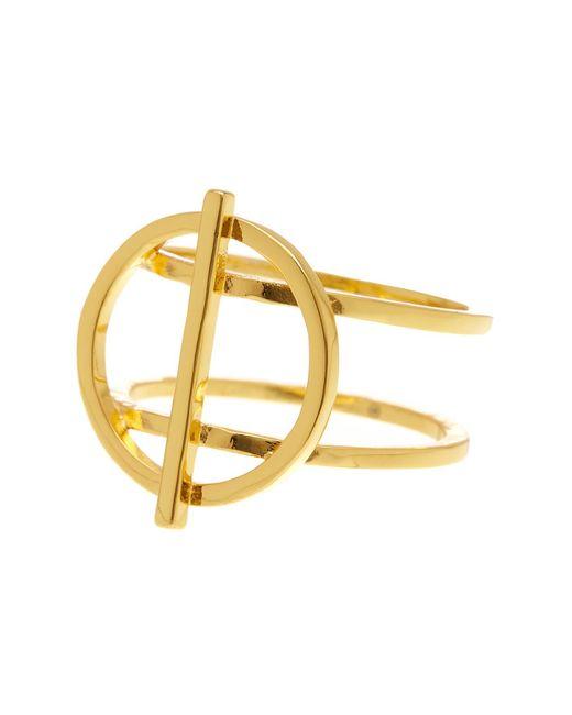 Gorjana   Metallic Anya Circle Ring - Size 6   Lyst