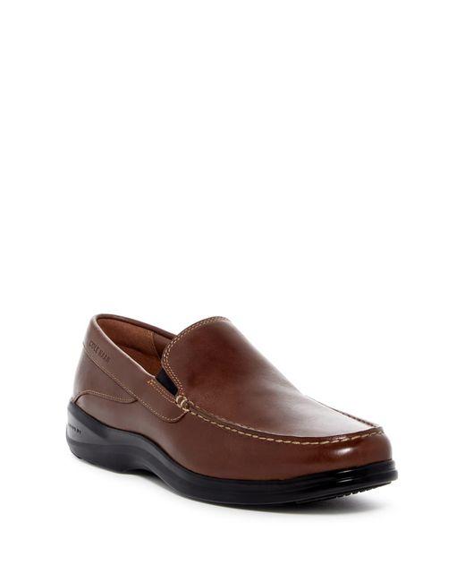 Cole Haan Brown Santa Barbarat Loafer for men