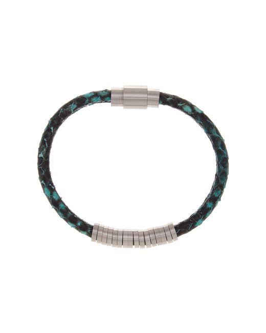 Steve Madden - Multicolor Snake Print Leather Bracelet - Lyst