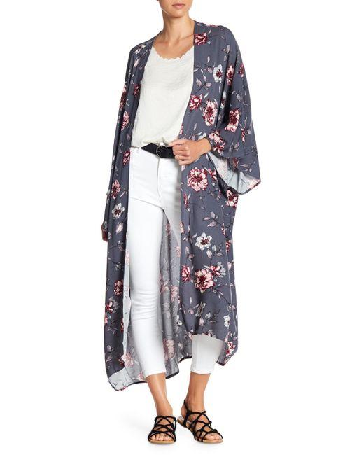 On The Road - Blue Raven Kimono - Lyst