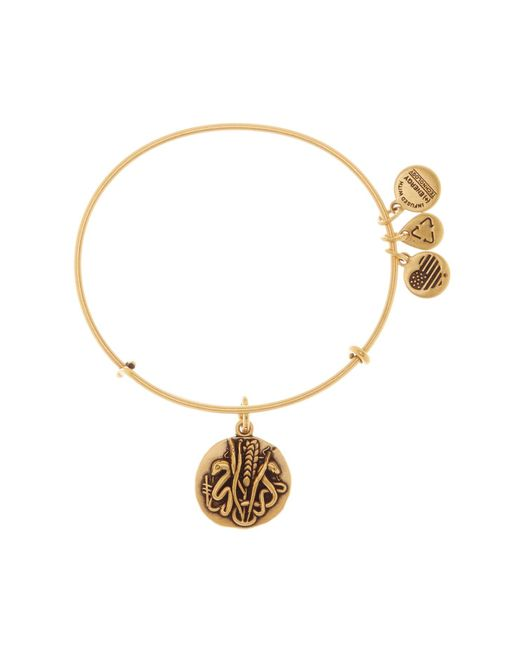 ALEX AND ANI | Metallic Reed Expandable Wire Bangle | Lyst