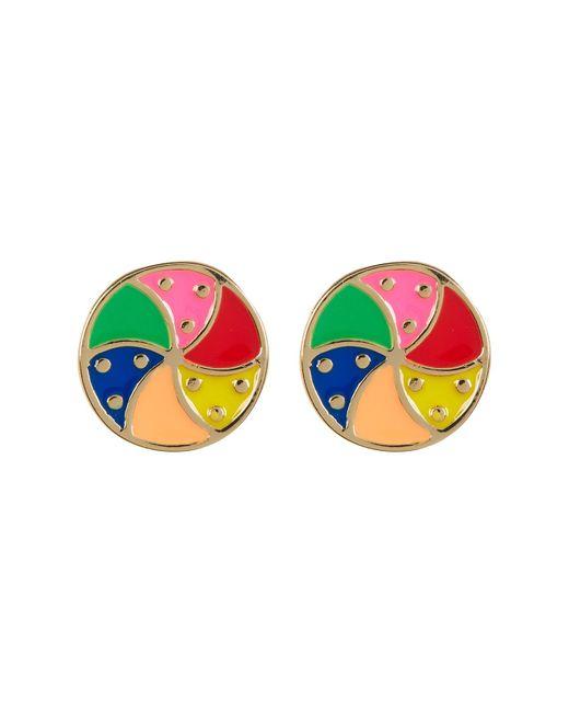Ariella Collection | Multicolor Beach Ball Earrings | Lyst
