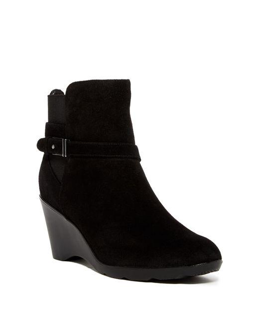 Blondo | Black Lacey Waterproof Boot | Lyst