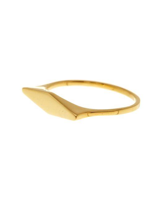 Bony Levy   Metallic 14k Yellow Gold Link Ring   Lyst