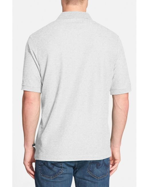 Tommy bahama relax the emfielder pique polo big tall for Big and tall polo shirts on sale