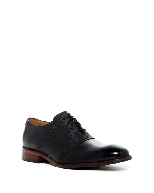 Cole Haan | Black Williams Casual Saddle Shoe for Men | Lyst