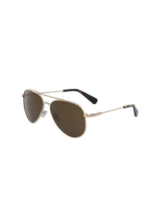 Cole Haan | Metallic Men's Aviator Metal Frame Sunglasses for Men | Lyst