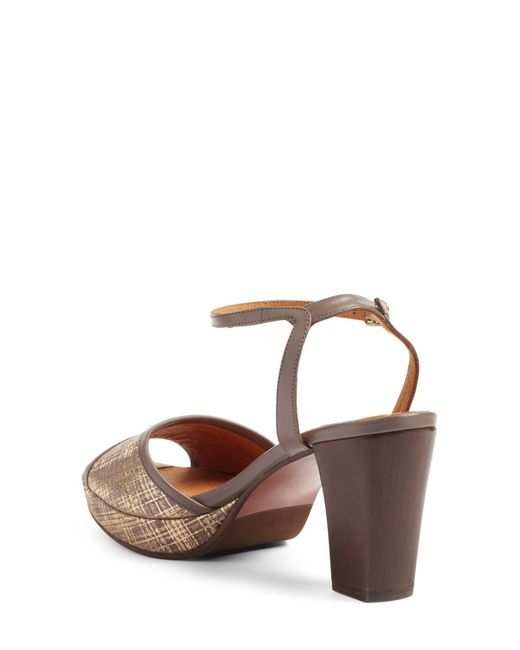 chie mihara deko sandal in brown - save 53%   lyst, Wohnideen design