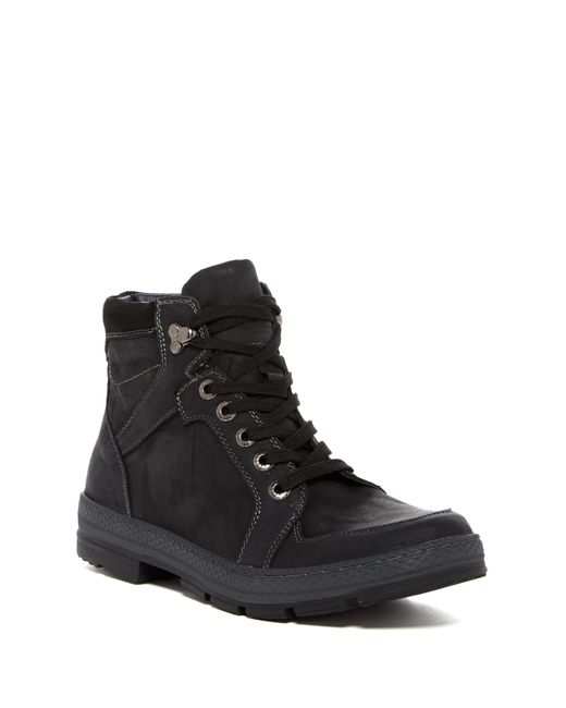 Steve Madden | Black Lennd Mid Boot for Men | Lyst