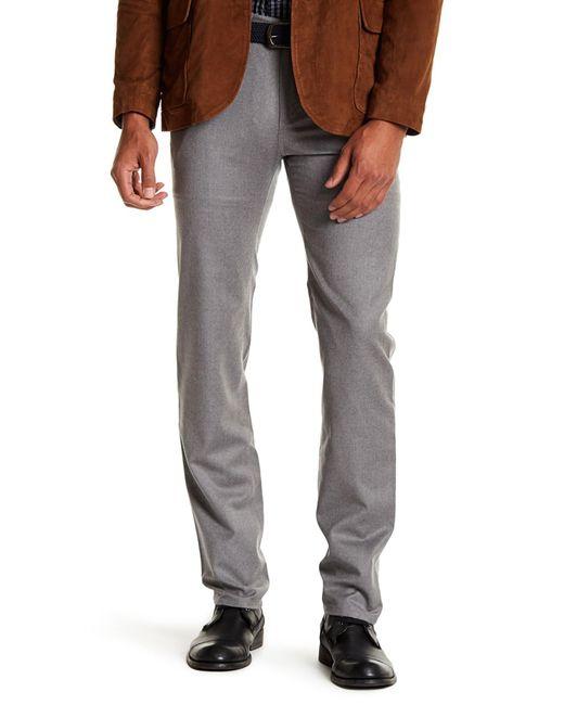 Peter Millar | Gray Solid 5 Pocket Pants for Men | Lyst