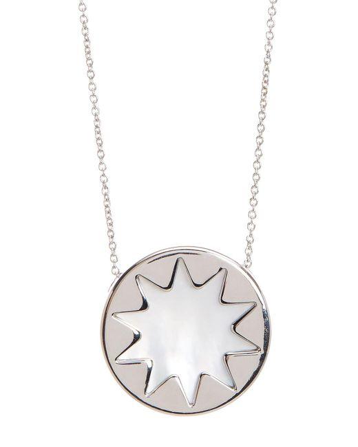 House of Harlow 1960 | Metallic Mini Sunburst Pearl Pendant Necklace | Lyst