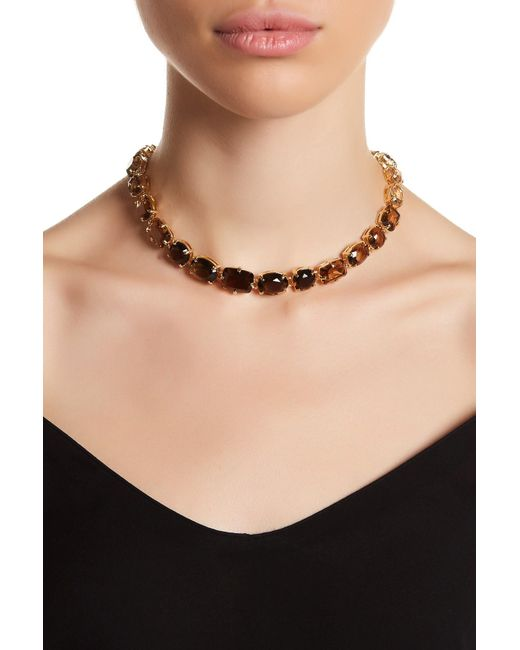 Carolee | Multicolor Ombre Stone Collar Necklace | Lyst