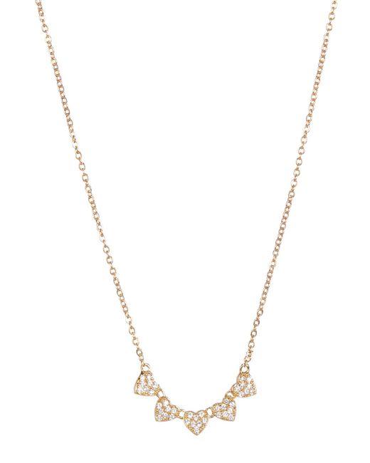 Carolee | Metallic Pave Heart Pendant Necklace | Lyst