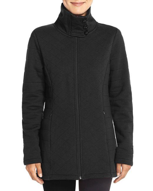 The North Face | Black Caroluna Fleece Lined Jacket | Lyst