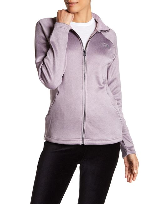 The North Face | Gray Quail Grey Agave Zip Jacket | Lyst
