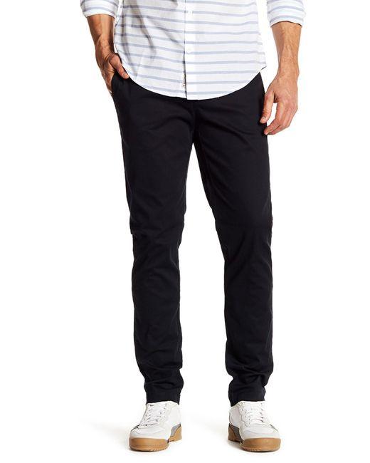 "Original Penguin | Black Bedford Solid Stretch Pants - 32"" Inseam for Men | Lyst"