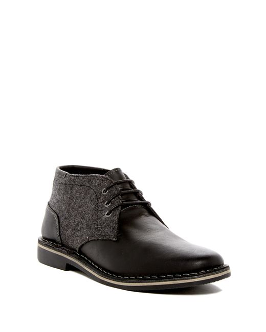 Steve Madden | Black Iconik Chukka Derby Boot for Men | Lyst