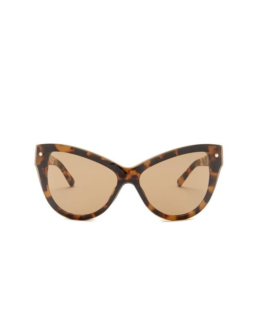 3.1 Phillip Lim | Brown Women's Extreme Cat Eye Sunglasses | Lyst