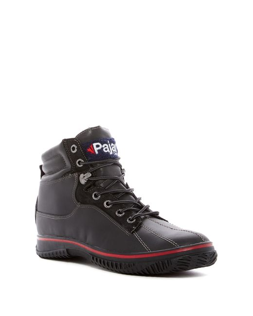 Pajar | Black Guardo Faux Shearling Lined Snow Boot for Men | Lyst