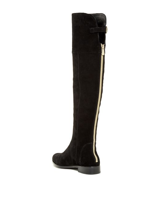 charles by charles david point toe knee high leather boots