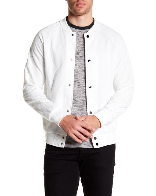 Sovereign Code | White Princeton Quilted Jacket for Men | Lyst