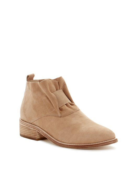 Eileen Fisher | Natural Soul Suede Ankle Boots | Lyst