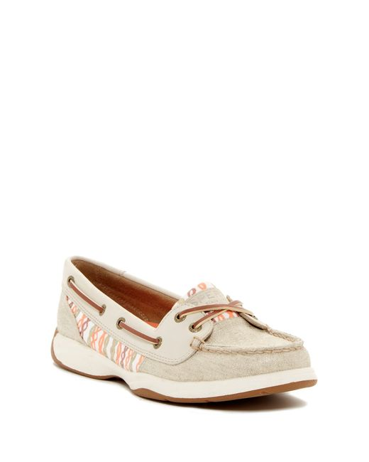 Sperry top-sider Laguna Boat Shoe in Multicolor (OAT-CORAL ...