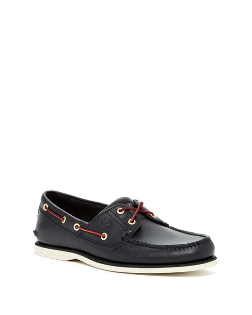 Timberland | Black Classic Boat Shoe for Men | Lyst