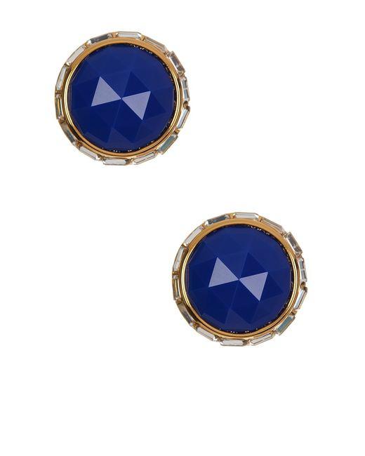 Trina Turk | Blue Stone Stud Earrings | Lyst