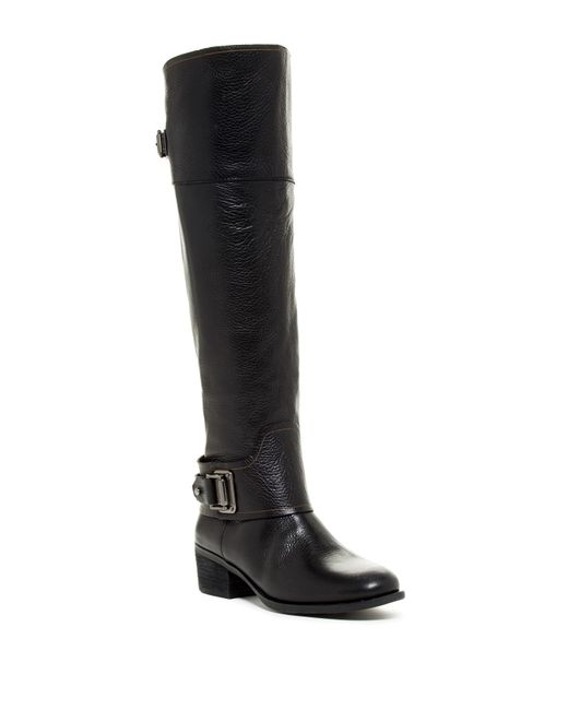 Vince Camuto   Black Basira Riding Boot   Lyst