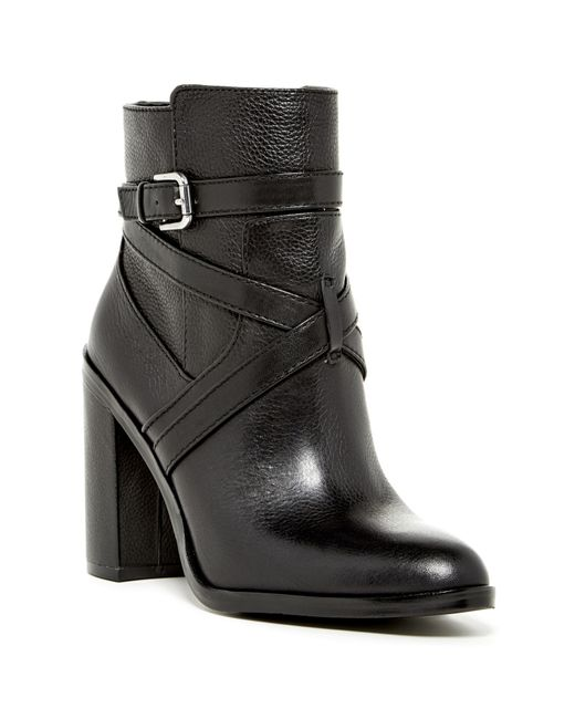 Vince Camuto | Black Vc John Camuto Cala – Round-toe Bootie | Lyst