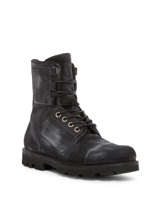 DIESEL | Black Lace-up Ankle Boots for Men | Lyst