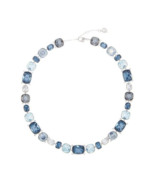 Swarovski - Multicolor Divinity Multi Color Faceted Crystal Statement Necklace - Lyst