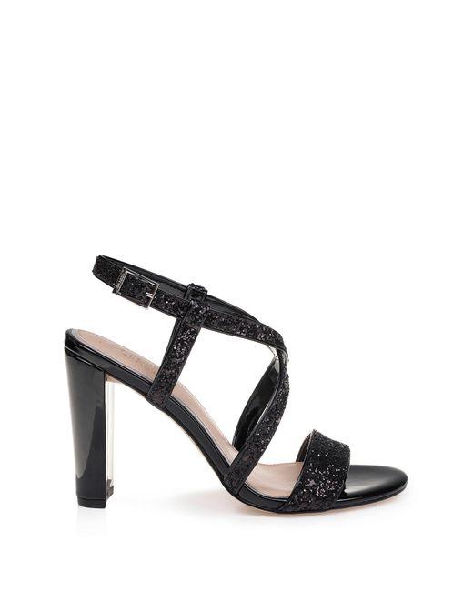 ee7b7e4400 ... Badgley Mischka - Black Diza Block Heel Sandal - Lyst ...