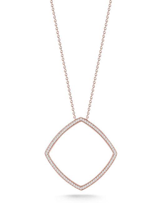 Dana Rebecca - Metallic 14k White Gold Diamond Alexa Jordyn Pendant Necklace - 0.43 Ctw - Lyst
