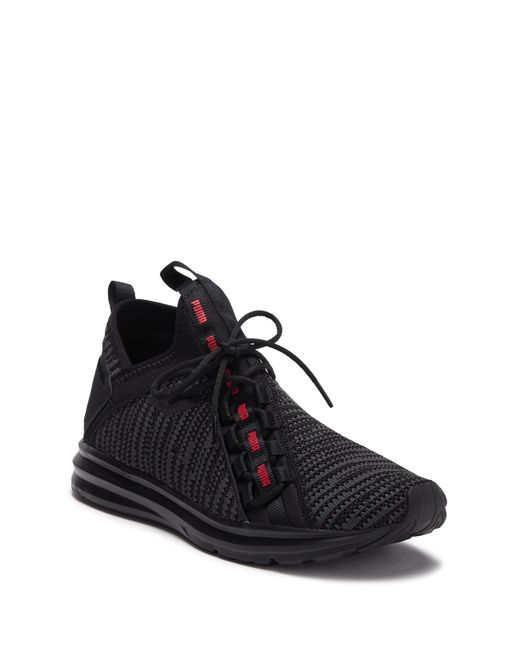 9739ac27b5c PUMA - Black Enzo Peak Sneaker for Men - Lyst ...