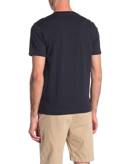 Original Penguin Blue Pete Planes Graphic T-shirt for men
