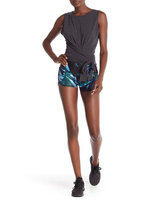 Zella - Blue So Hot Printed Shorts - Lyst