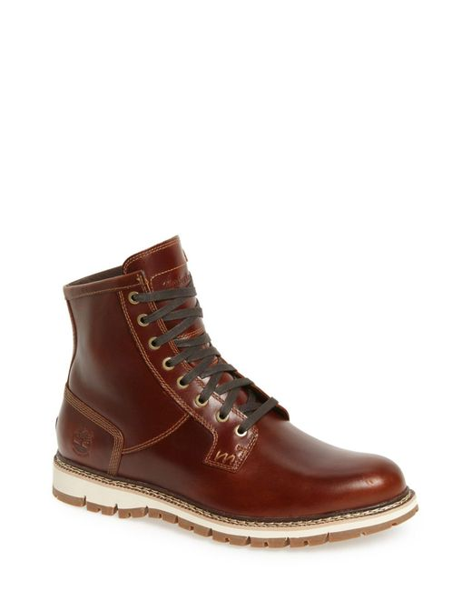 Timberland | Brown Britton Hill Waterproof Boot for Men | Lyst