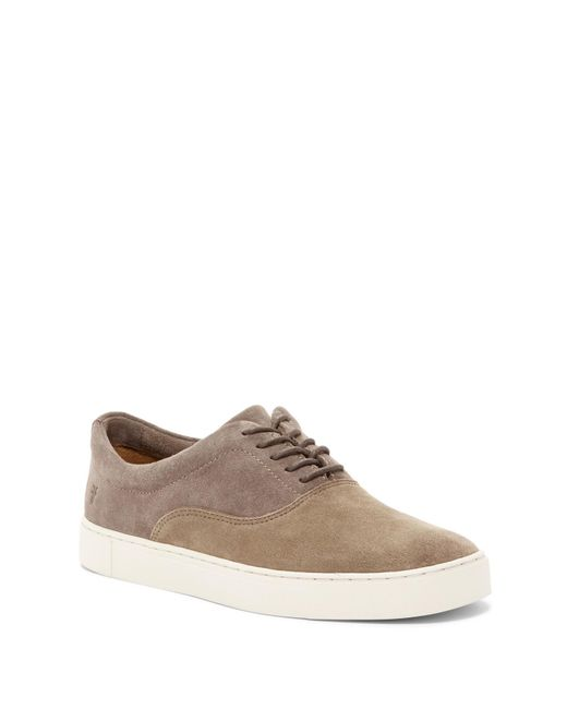 Frye | Brown Gabe Bal Suede Oxford for Men | Lyst