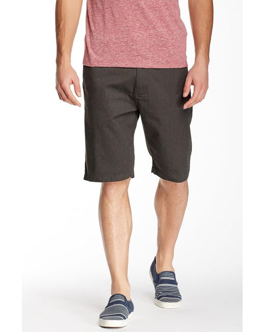 NEW Men/'s Volcom Vmonty Stretch Modern Fit Flat Front Casual Shorts