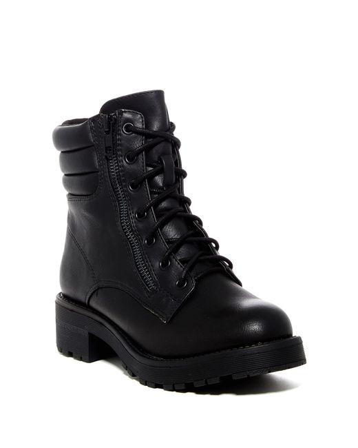 MIA - Black Maeva Dual-zip Boots - Lyst