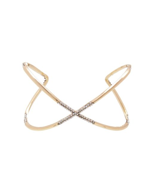 House of Harlow 1960 | Metallic Crystal Sound Waves Cuff | Lyst